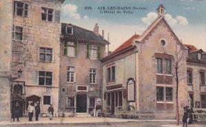 France Aix les Bains L'Hotel de Ville