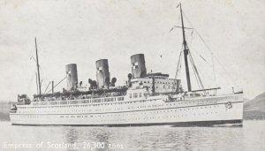 Ocean Liner Empress of Scotland , Canadian Pacific , 1930s