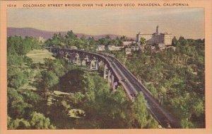 Colorado Street Bridge Over The Arroyo Seco Pasadena California