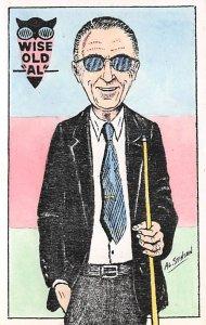 Artist Al Stinson Pool Billiards Postcard Carte Postale unused