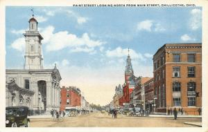 Chillicothe OH Courthouse~7 Paint St Intersects w/Main St~Brown Insurance 1914