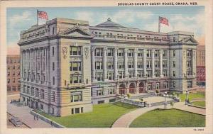 Nebracka Omaha Douglas County Court House 1943
