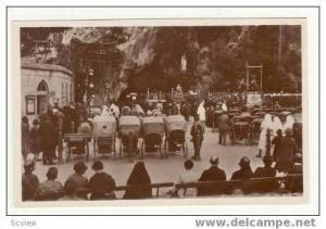 RP: LOURDES, France, La Grotte, 20-40s