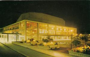 VANCOUVER, British Columbia, Canada, 40-60s; Queen Elizabeth Theatre at Night