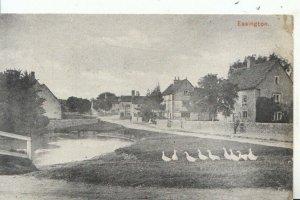 Durham? Postcard - View of Easington Village - Ref 12493A