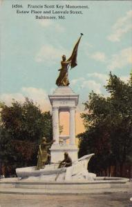 Francis Scott Key Monument Eutaw Place And Lanvale Street Baltimore Maryland ...