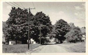 LP52  RPPC  DeLancey  New York View  Vintage Postcard