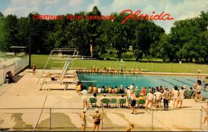 Florida Greetings From Brandon Showing Swimming Pool Brandon Swim and Tennis ...