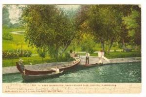Lake Denny Blaine Park, Seattle, Washinton,PU-1907