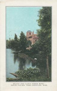 PASS CHRISTIAN, Mississippi, 1943; Inn by the Sea, Belfry & Clock Tower Wing