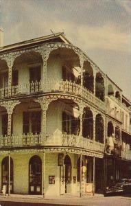 Lace Balconies New Orleans Louisiana 1952