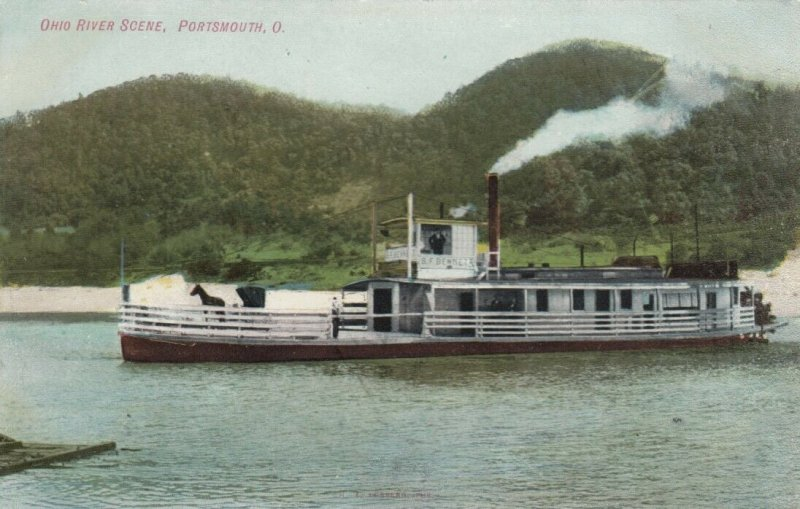 PORTSMOUTH , Ohio , 1900-10s ; Ferry Boat