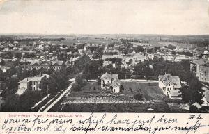 Neillsville Wisconsin~Courthouse From the Southwest~Big Homes w/Large Yards 1906