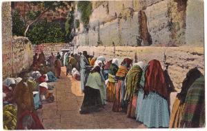 Jerusalem, Jewish Wailing Place
