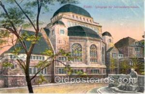 Essen Synagoge, Judaic Postcard Postcards  Essen Synagogue