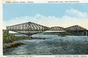 Quebec - Le Pont de Quebec, Quebec Bridge