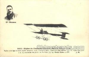 Dickson Early Air Airplane Postcard Postcards  Dickson
