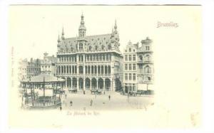 Bandstand, La Maison du Roi , Bruxells, Belgium, 1890s