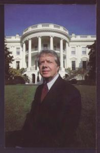 Jimmy Carter on the South Lawn White House Post Card 3351