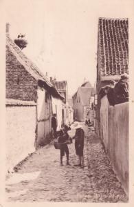 Peter Daus Slippe Ribe Denmark Old Postcard