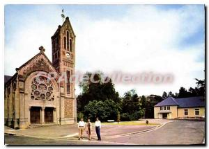 Modern Bridge Post Card Ouilly The Church And La Salle Des Fetes