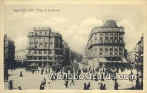 Palce de la Bourse Bruxelles, Belgium Unused