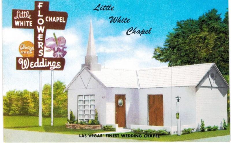 Las vegas little white chapel weddings flowers 1960 unused nv las vegas little white chapel weddings flowers 1960 unused nv mightylinksfo