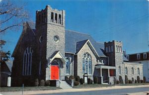 Berlin Maryland~Stevenson Methodist Church~1950s Postcard