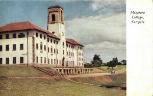 kenya, KAMPALA, Makerere College (1960s) Postcard