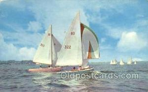 Saliboats Sail Boats, Sailing, Ship Postcard Postcards  Saliboats