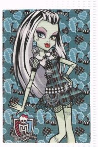 Photocards: MONSTER HIGH, Numero 031: Frankie Stein  (Panini 2011)