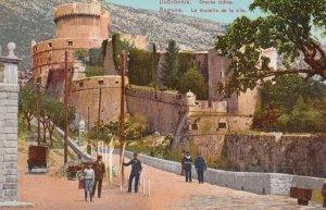 DUBROVNIK / RAGUSA, Croatia , 1900-10s : Gracke zidine