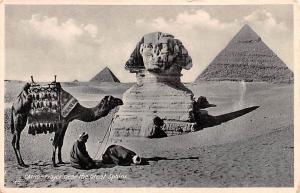 Cairo Egypt, Egypte, Africa Prayer near the Great Sphinx Cairo Prayer near th...