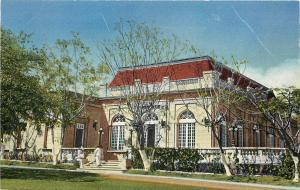Vintage Linen Postcard; Country Club, San Salvador, El Salvador C.A., Unposted