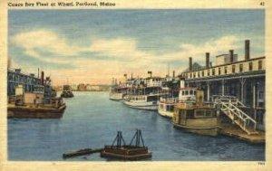 Casco Bay Fleet in Portland, Maine