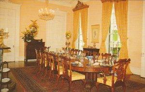 Louisiana White Castle Nottoway Plantation Dining Room