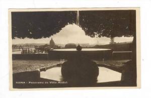 RP, Panorama Da Villa Medici, Roma (Lazio), Italy, 1920-1940s