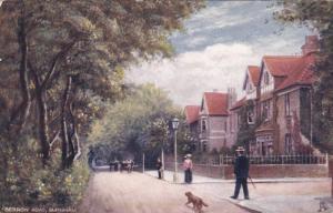 BURNHAM, England, 1900-1910's; Berrow Road