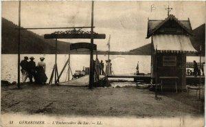 CPA GÉRARDMER L'Embarcadere du Lac (402518)