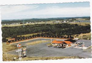 GULF Gas Station, Motel / Restaurant Transcanadien, ST-ANTONIN, Quebec, 1986
