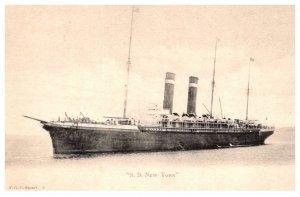 S.S. New York  American Line