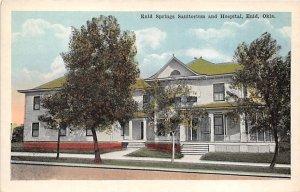 Enid Springs Sanitorium and Hospital Enid, Oklahoma, USA Unused