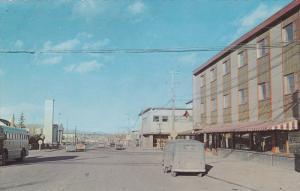 Fourth Avenue , WHITEHORSE , Yukon , Canada , 50-60s