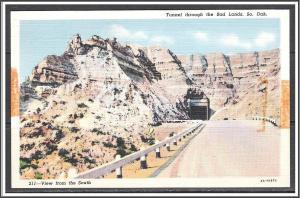 South Dakota Tunnel Through The Bad Lands - [SD-029]