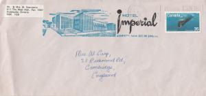 New Delhi Hotel Imperial Janpath India Cover Envelope