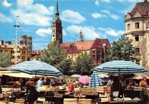 Muenchen Viktualienmarkt, Food Market Terrace