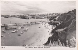 RP: NEWQUAY , Cornwall , England , 1953 ; Harbour & Beaches
