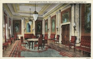 FRANKFORT, Kentucky, 1910s; State Reception Room, Kentcuky's New State Capitol