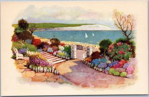 Anne Croft - Parade Gardens - Swanage - Vivian Mansell Series 2132