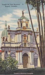 Temple del Voto Nacional , BOGOTA , Colombia , 30-40s